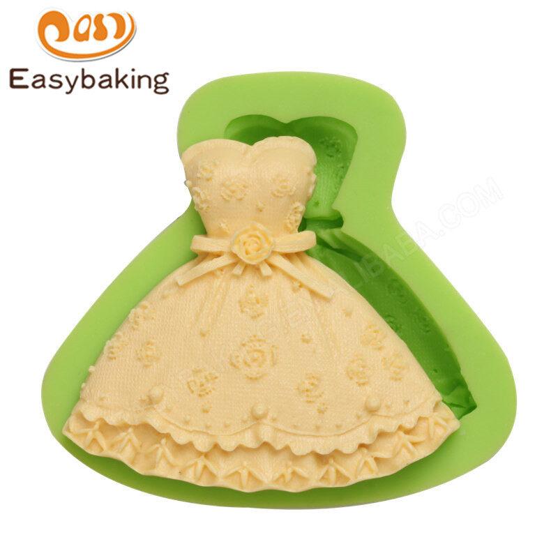 Clothes Shape Silicone Fondant  3D Cake Decorating Mold