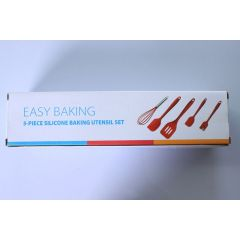 Wholesale High Quality 5 Piece Silicone Baking Utensil Set