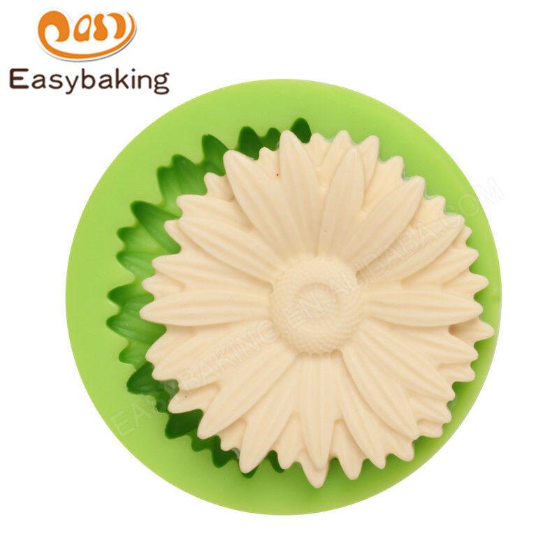 3D flower Fondant Silicone Cake Decoration Mould
