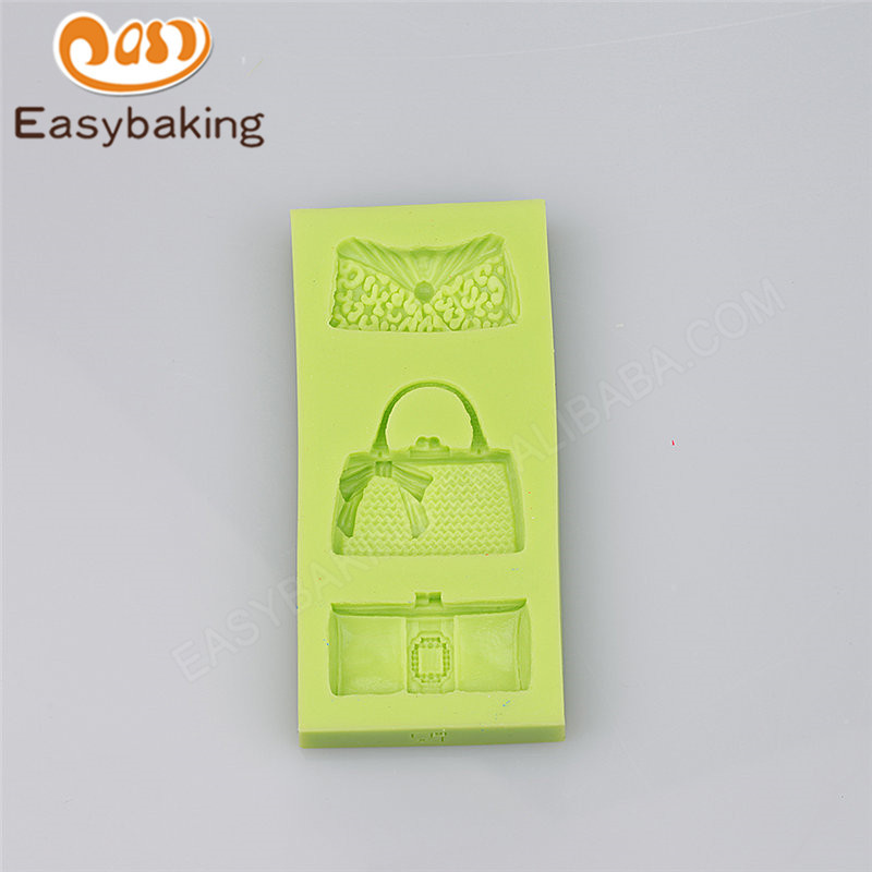 Bag shape silicone molds for microwave cake 3d silicone molds