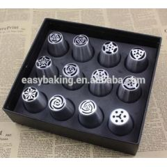 Russian Pastry Tips Icing Piping Nozzles With 304 Stainless Steel