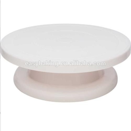 Food Grade Pastry Easy Rotating Dessert Tools Plastic Cake Turntable