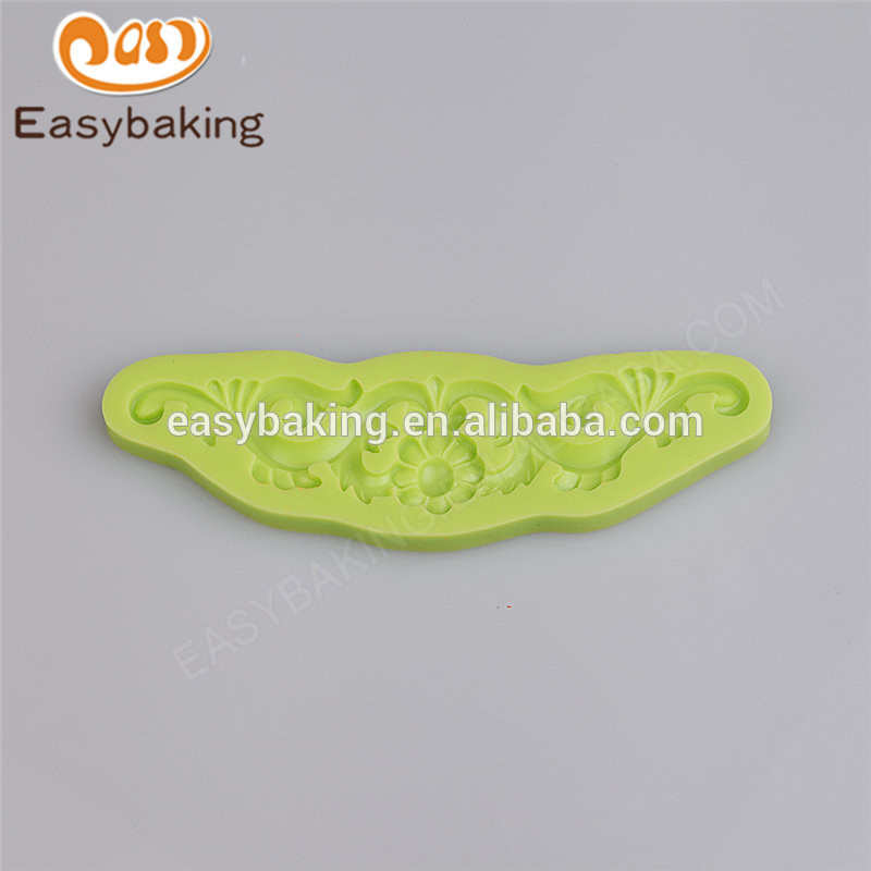 Newest promotional custom design competitive price mini silicone cookie mould