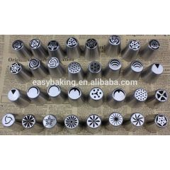 32 Designs Russian Piping Tips