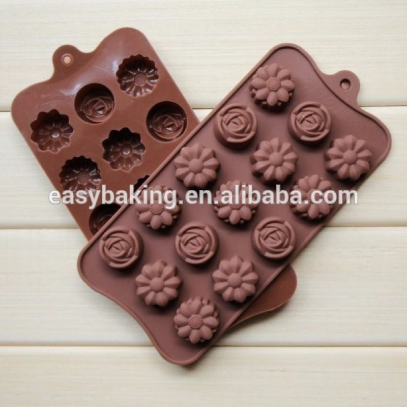 2016 Hot Selling Customized Chocolates Silicone Molds