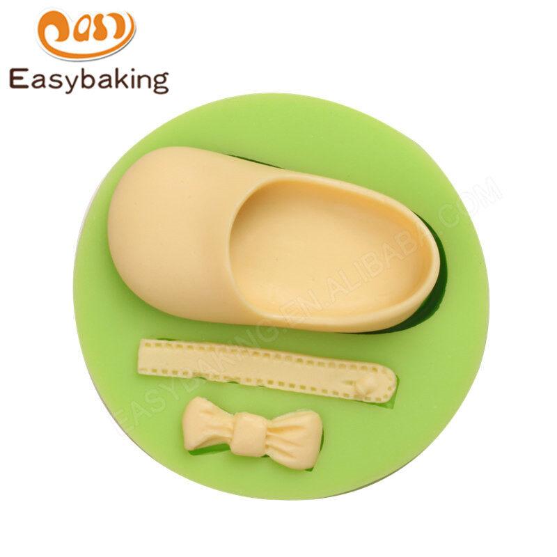 Baby & Bow Shape Silicone Cake Mold for Fondant Decorating