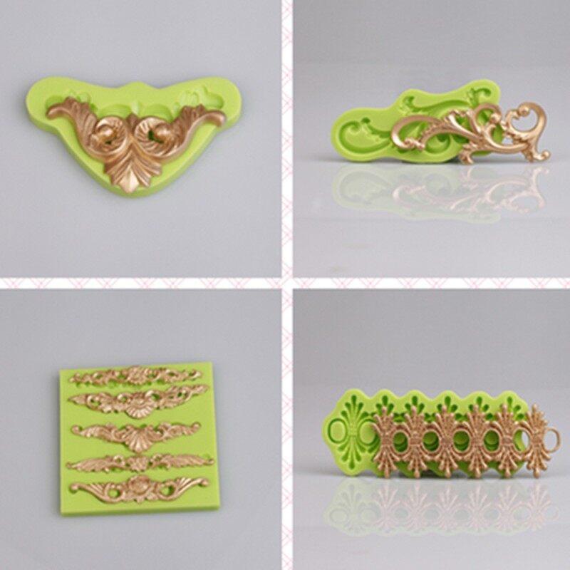 Customized Rattan Design Arts & Crafts Silicone Fondant Mold