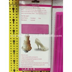 High-heeled Shoes Decoration Fondant Silicone Mold Pearl Mat