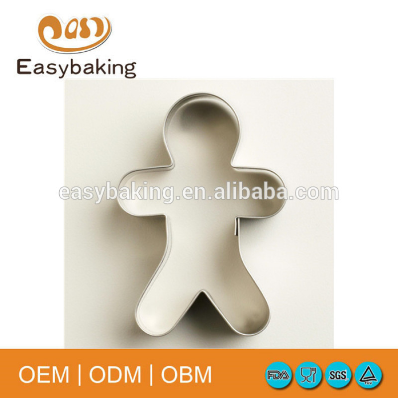 Hot sale food grade christmas design stainless steel cookie cutters