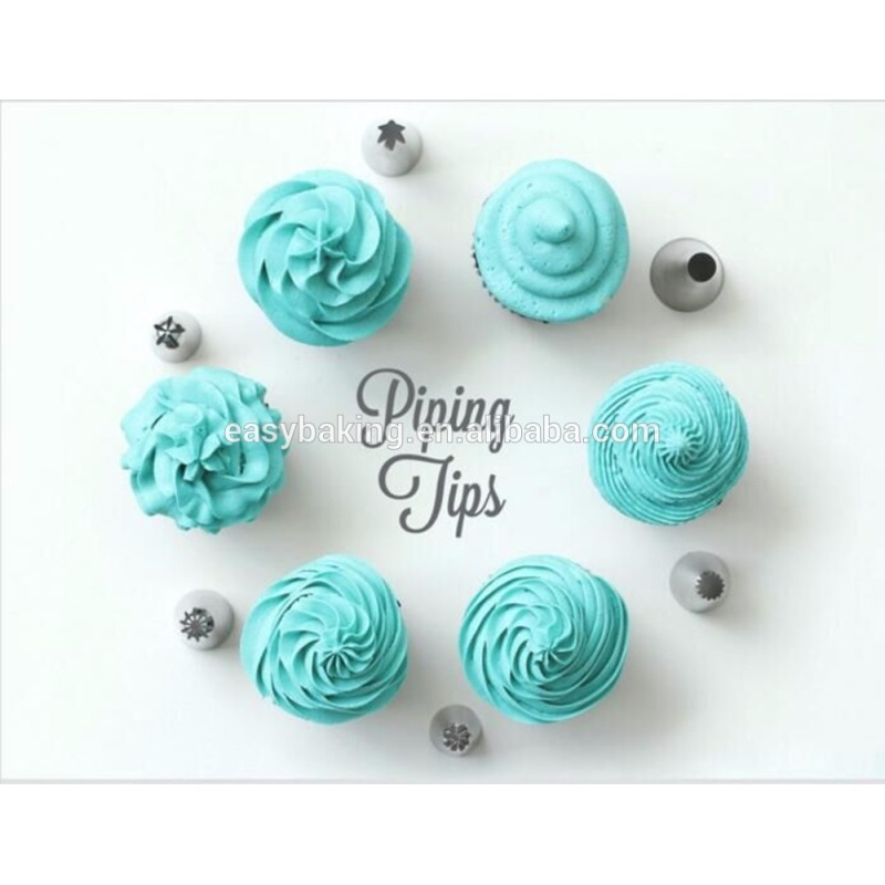 New Designs Icing Piping Nozzles Pastry Cupcake Tips