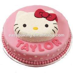 Aluminum 3D Cartoon Cake Mold Hello Kitty Decoration Baking Pan