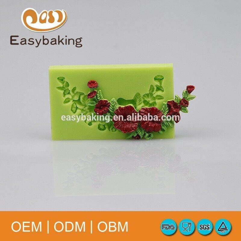 Online Shopping Silicone Fondant Molds For Cake Decorating