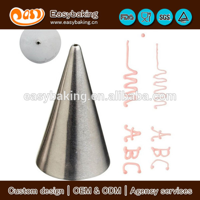 Cake Cookie Decorating Small Round Standard Piping Tip