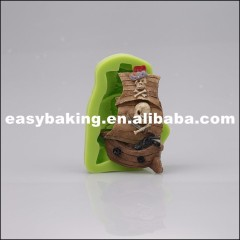 Popular One Piece Themed Boat Shaped Cake Mould