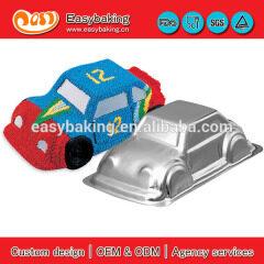 Kids Birthday Party Aluminium 3D Car Cake Baking Pan Tin