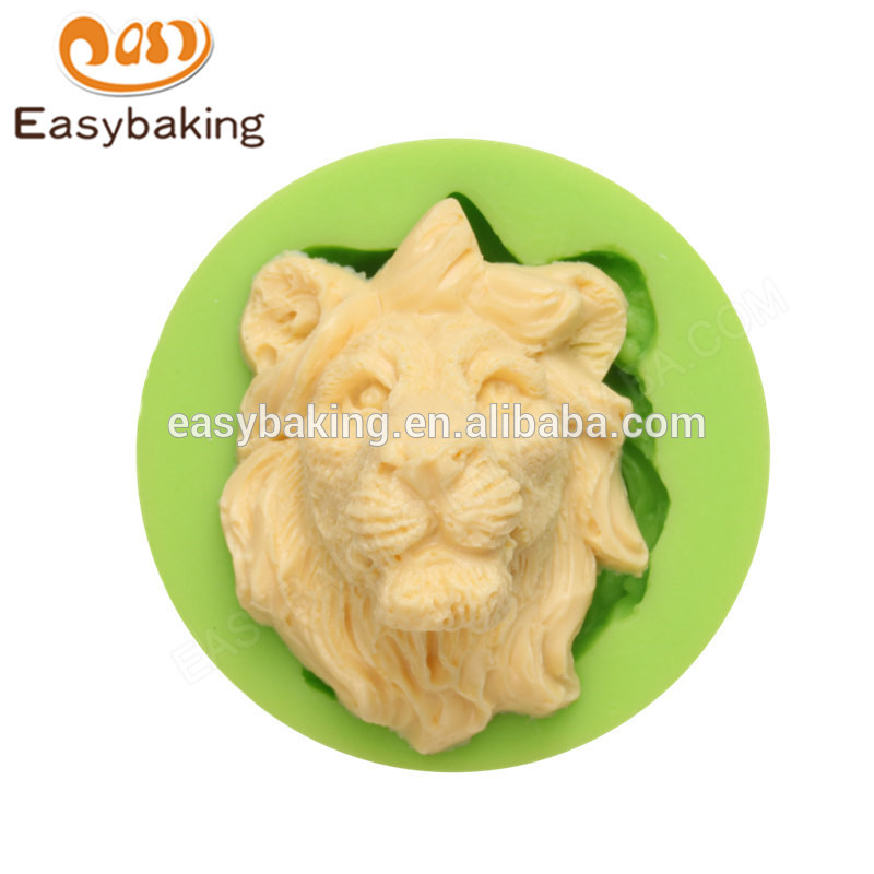 Chinese supplier wholesales new Arrive high quality lion head silicone molds