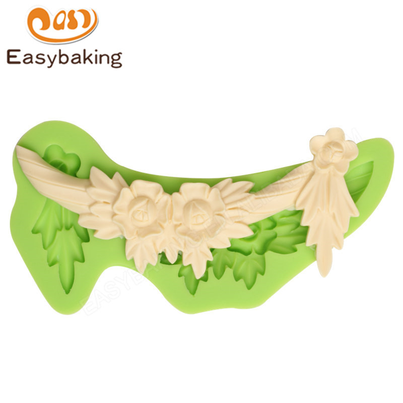 Flower 3D Silicone Mold Cake Baking Liquid Silicone Mold