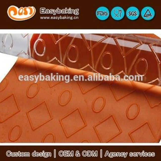 Various Diamond And Bubble Custom Acrylic Textured Rolling Pins