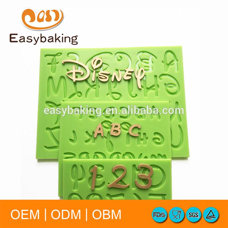 Fondant Silicone Molds for cake decorating/silicone baking mould