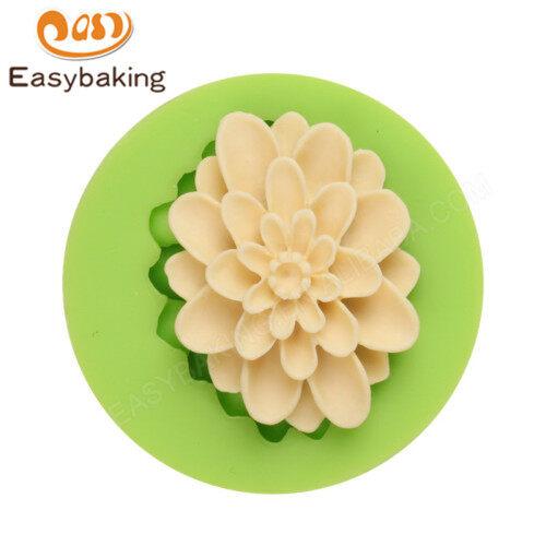 Flower Fondant Silicone Mold Sugar Paste Cake Silicone Mould