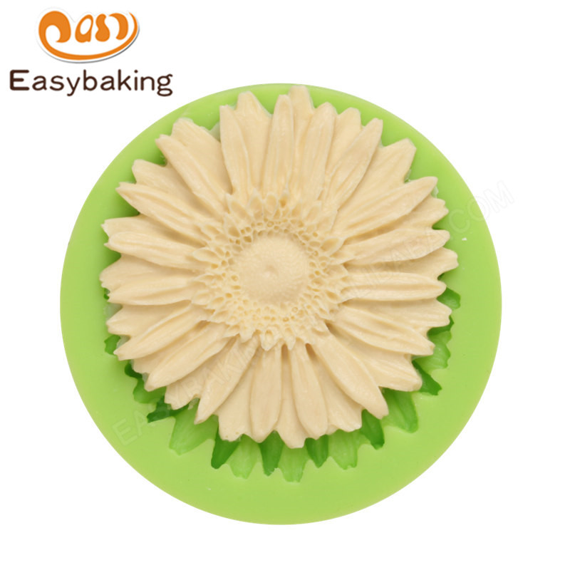 3D Flower silicone fondant molds for cake decorating supplies