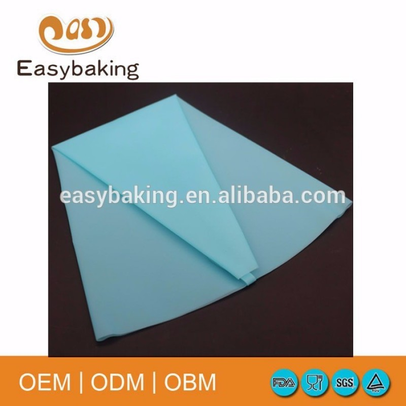 Durable silicone icing piping bag cake decorating tools pastry bag