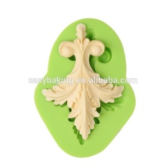 Zhejiang low price baroque silicone cake decoration molds