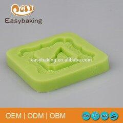 Popular Vintage Photo Frame Triangle Shape Silicone Baking Molds For Cake Decorating