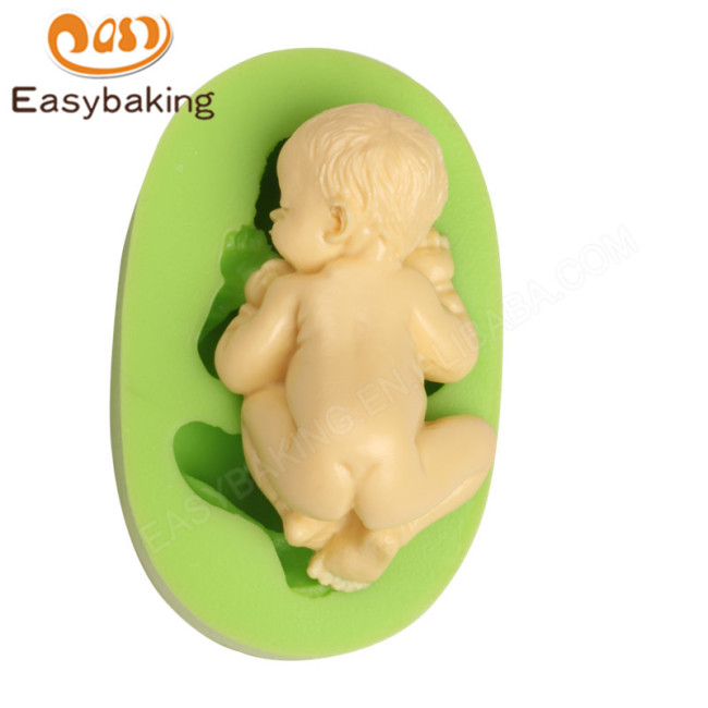 Food-grade 3D Sleep Baby Handmade Soap Mold