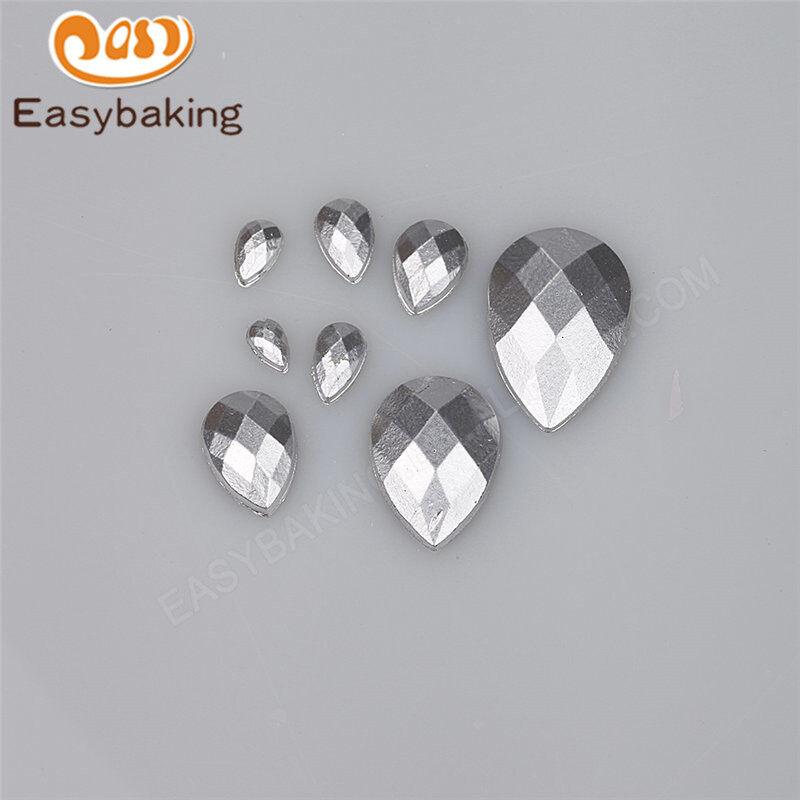 Multi-size diamond shape silicone fondant chocolate cake decoration mould