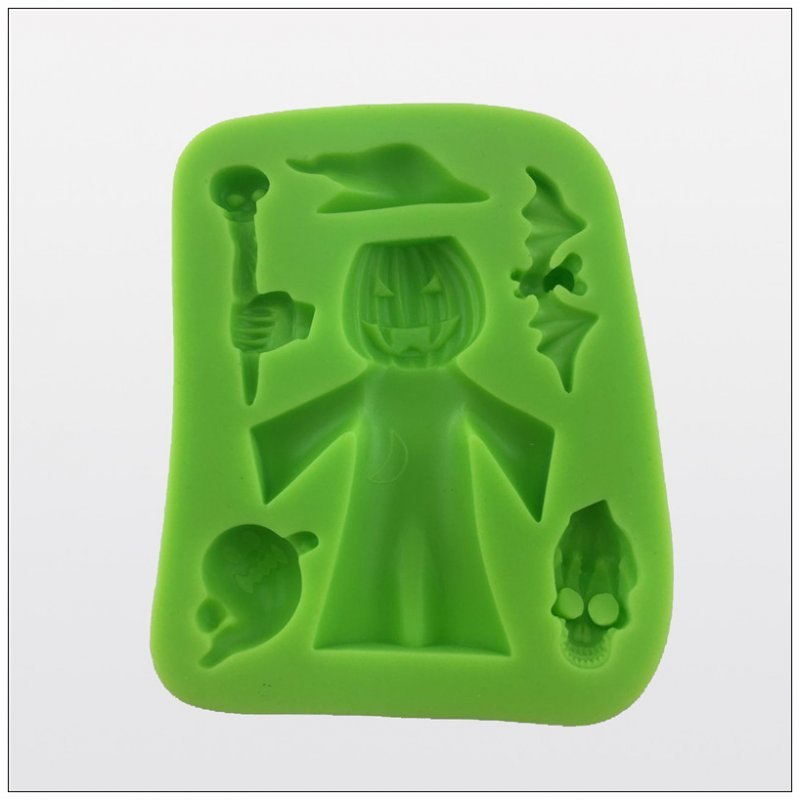 2016 Halloween china supplier silicone for gypsum mold for fondant cake and cookie