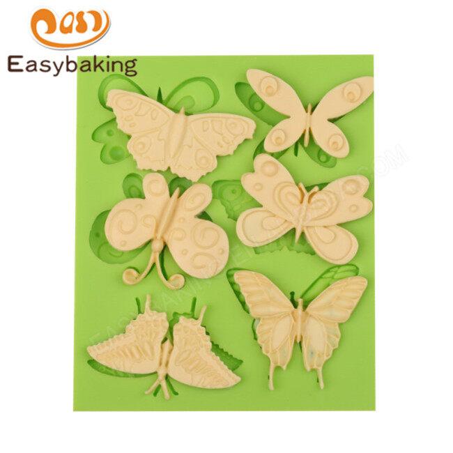 Butterflies series cake decorating tools fondant