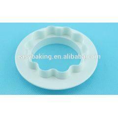 Eco-Friendly Feature Plastic Set of 4 Round Shape Cutter Sets