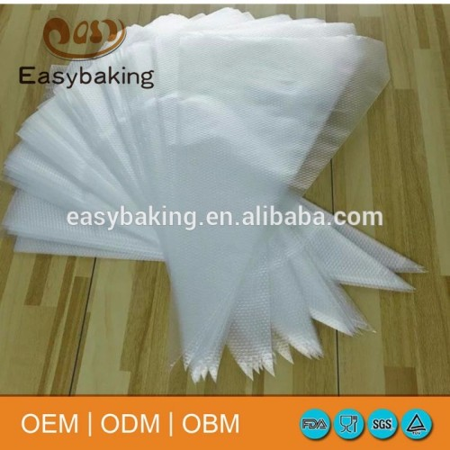 Hot sale kitchen accessories plastic cake decorating tools disposable piping bag