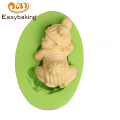 Baby with Hat Sweet Dreams Silicone Soap Mould
