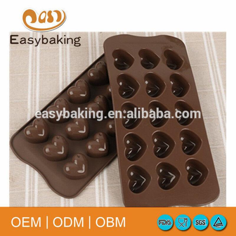 Food Grade 15 Cavities Homemade Craft Silicone Chocolate Mold