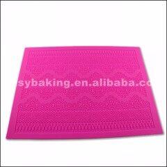 Non Stick Silicone Mold Baroque Fondant Lace Mat