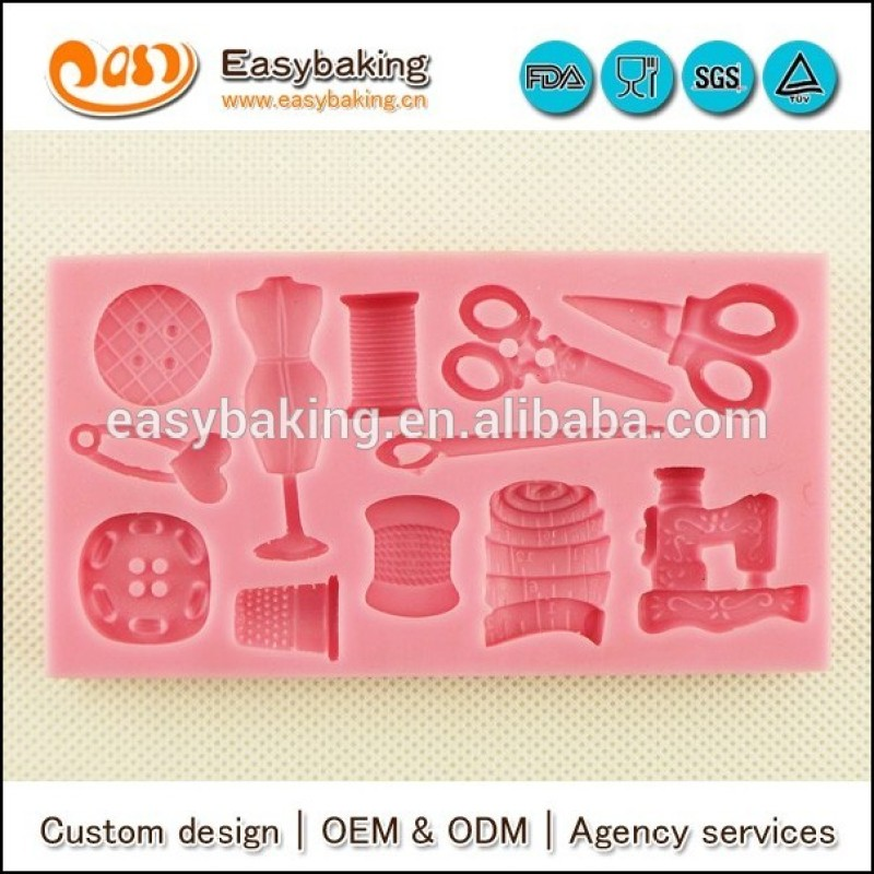 Daily supplies scissors silicone molds for cake decor