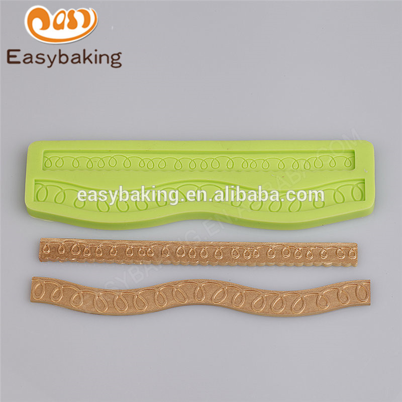 China supplies beautiful cheap silicone molds for cake decorating