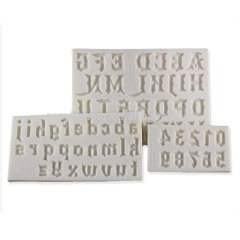 Halloween Style Capital Letters Cake Decorating Tools Mold