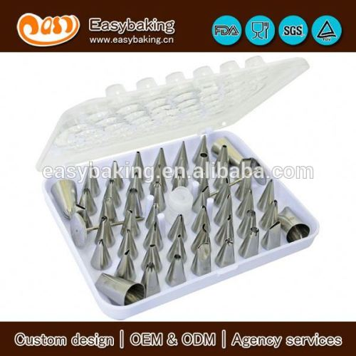 55 pieces cake decorating icing piping nozzles set
