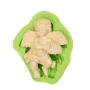 Cherub Cupid Cute Angel Boy With Electronic Organ Shape Silicone Mold