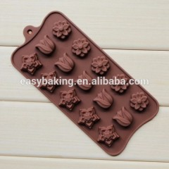Top Selling Items Flower Chocolate Pop Molds Cake Decorating