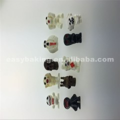 Handmade Ghost Skulls Shaped Polymer Clay Silicone Halloween Molds