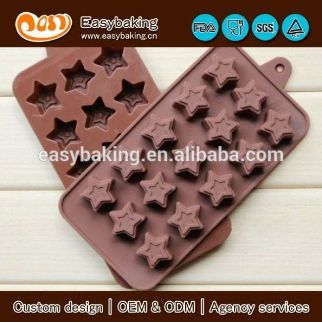The Classical custom godiva silicone chocolate molds in cake tools