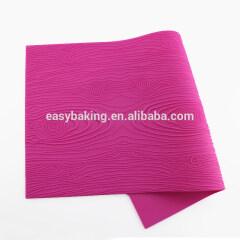 Multi Layer Wedding Cake Decoration Tree Bark Stump Shape Silicon Baking Mat