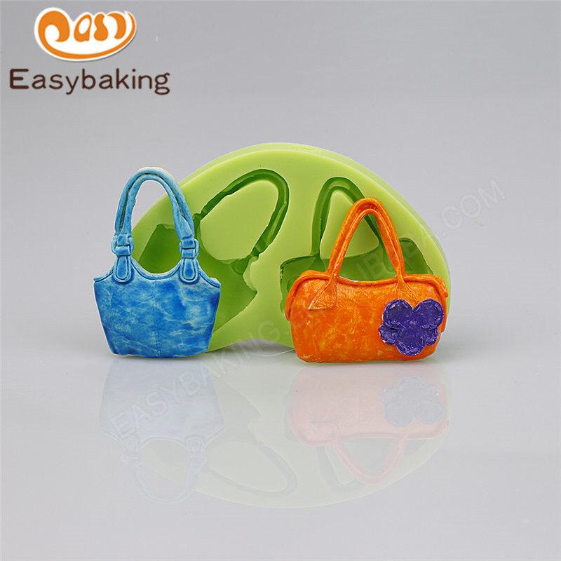 Bag 3D fondant silicone mold