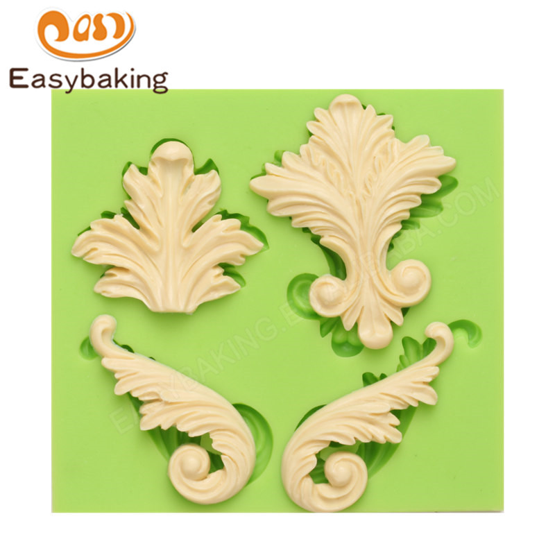 Exquisite Wings Soap Silicone Chocolate Molds For Cake Baking