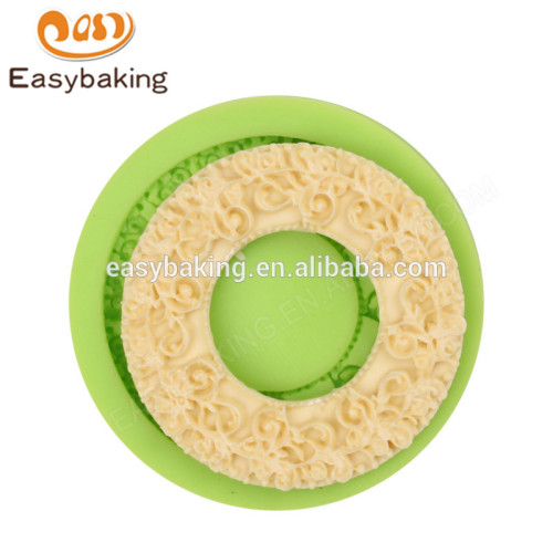 Manufacture factory price popular 58*10 bib & bottle silicone mould
