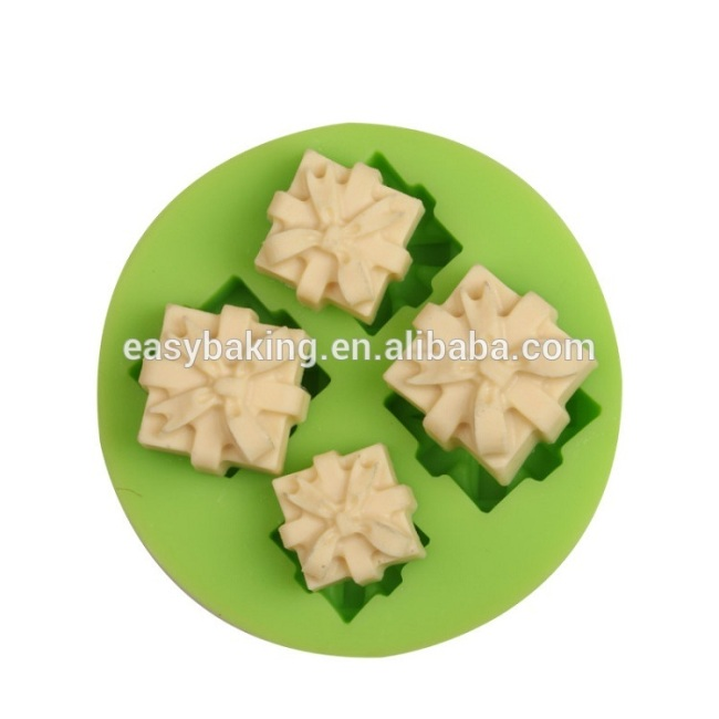 Dessert decorator Christmas gifts series silicone cupcake molds